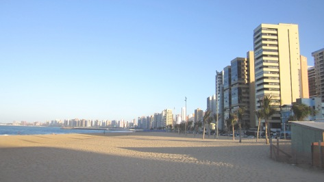 Mucuripe Beach at Fortaleza