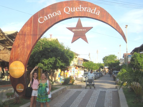 Gateway to the Broadway of Canoa Quebrada