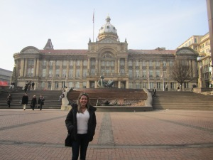 And there I was lucky enough to have my photograph taken by a charming stranger in the street of Birmingham...