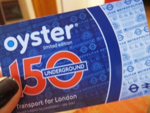 24 Oyster card
