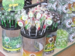 Weed lollipops