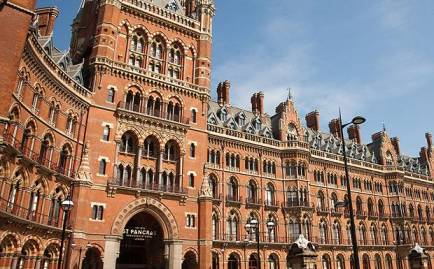 St Pancras International Railstation