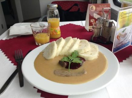 Bratislava food onboard